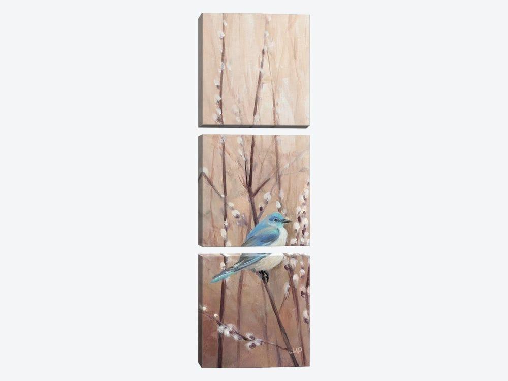 Pretty Birds II by Julia Purinton 3-piece Canvas Print