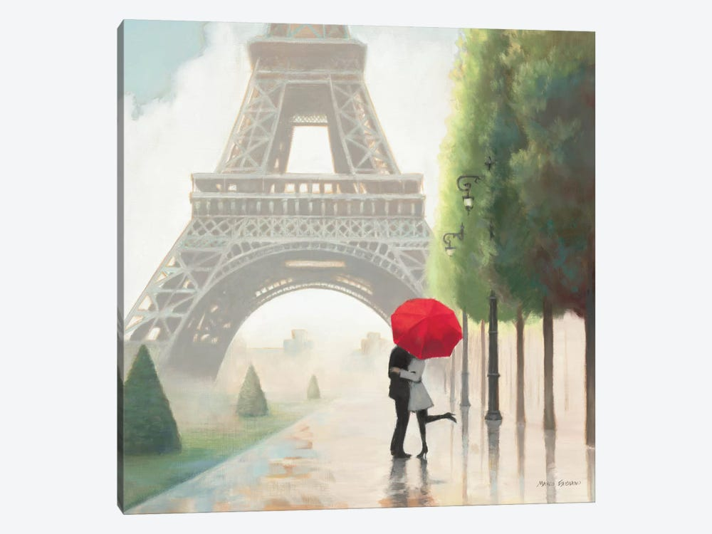 Paris Romance II 1-piece Art Print
