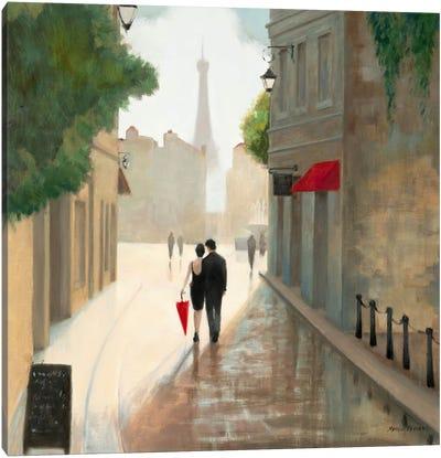 Paris Romance I  Canvas Print #WAC849
