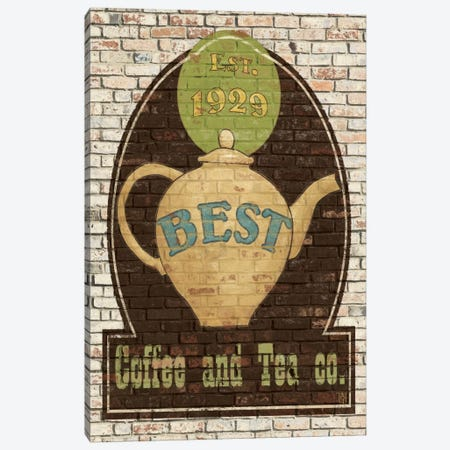 Best Coffee and Tea Canvas Print #WAC84} by Avery Tillmon Canvas Wall Art