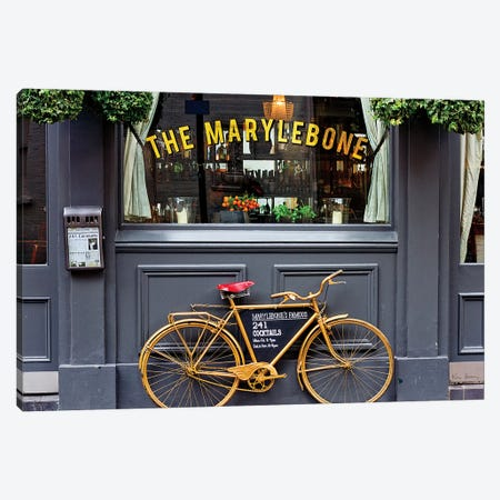 Marylebone Bike Canvas Print #WAC8506} by Keri Bevan Art Print