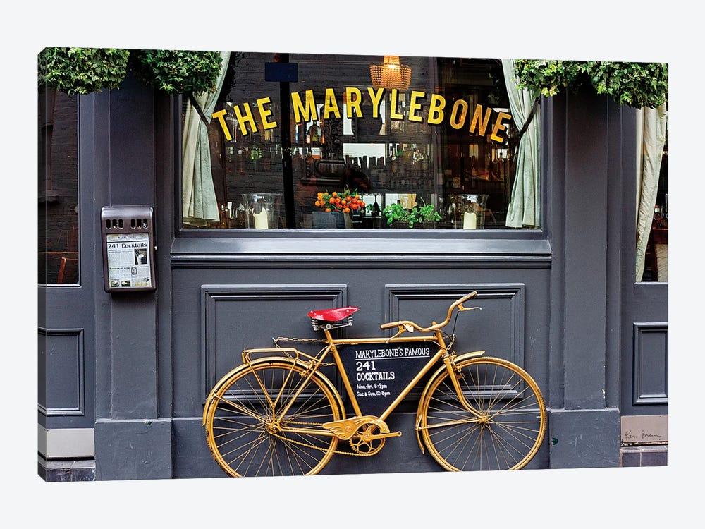 Marylebone Bike by Keri Bevan 1-piece Canvas Art Print