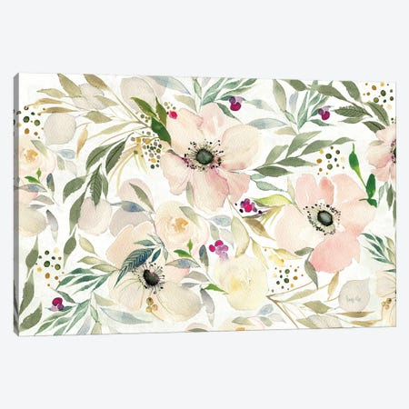The Joy Of White Canvas Print #WAC8509} by Kristy Rice Canvas Artwork