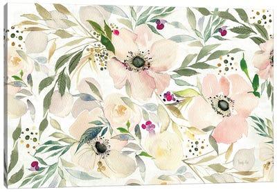 The Joy Of White Canvas Art Print