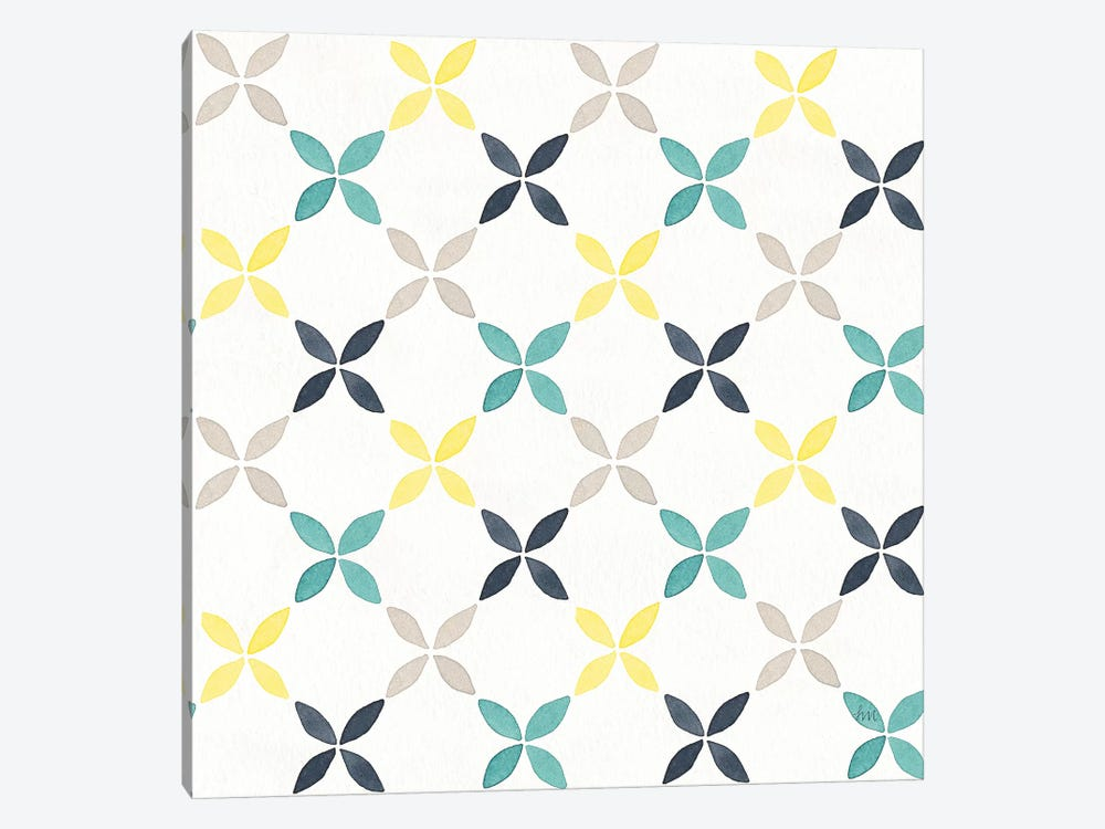 Garden Getaway Pattern II by Laura Marshall 1-piece Canvas Art Print