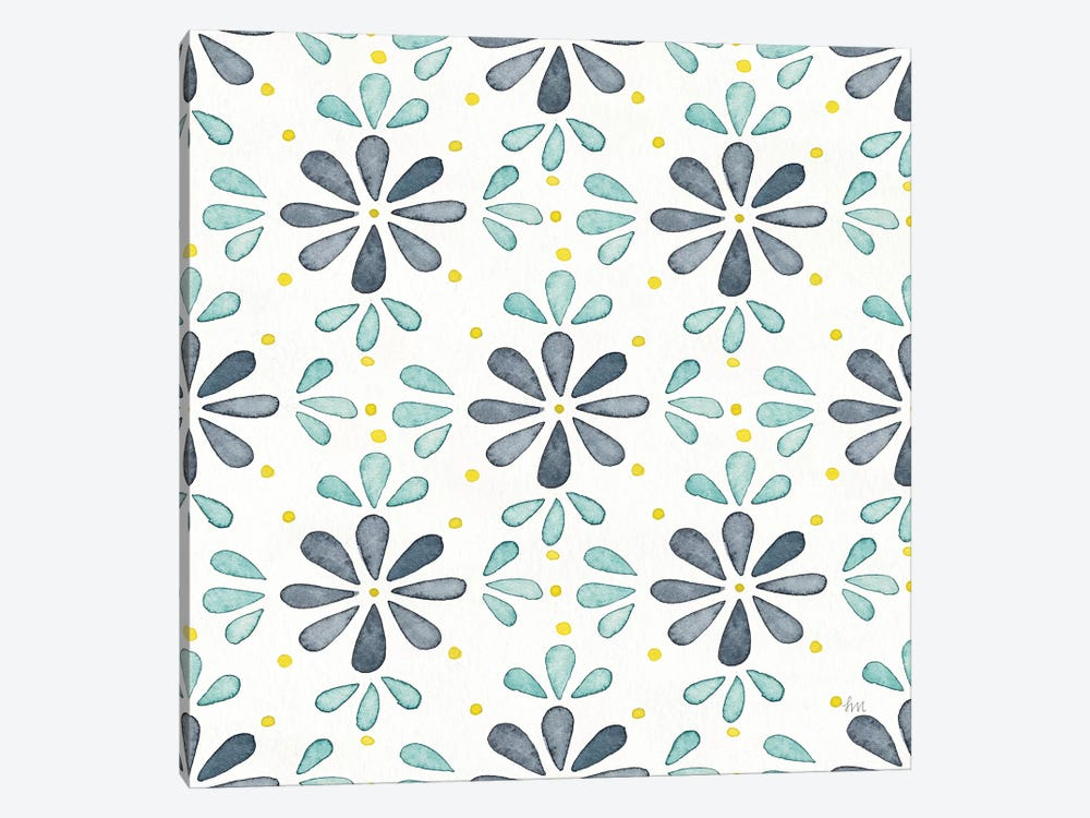 Garden Getaway Pattern IX by Laura Marshall 1-piece Canvas Wall Art