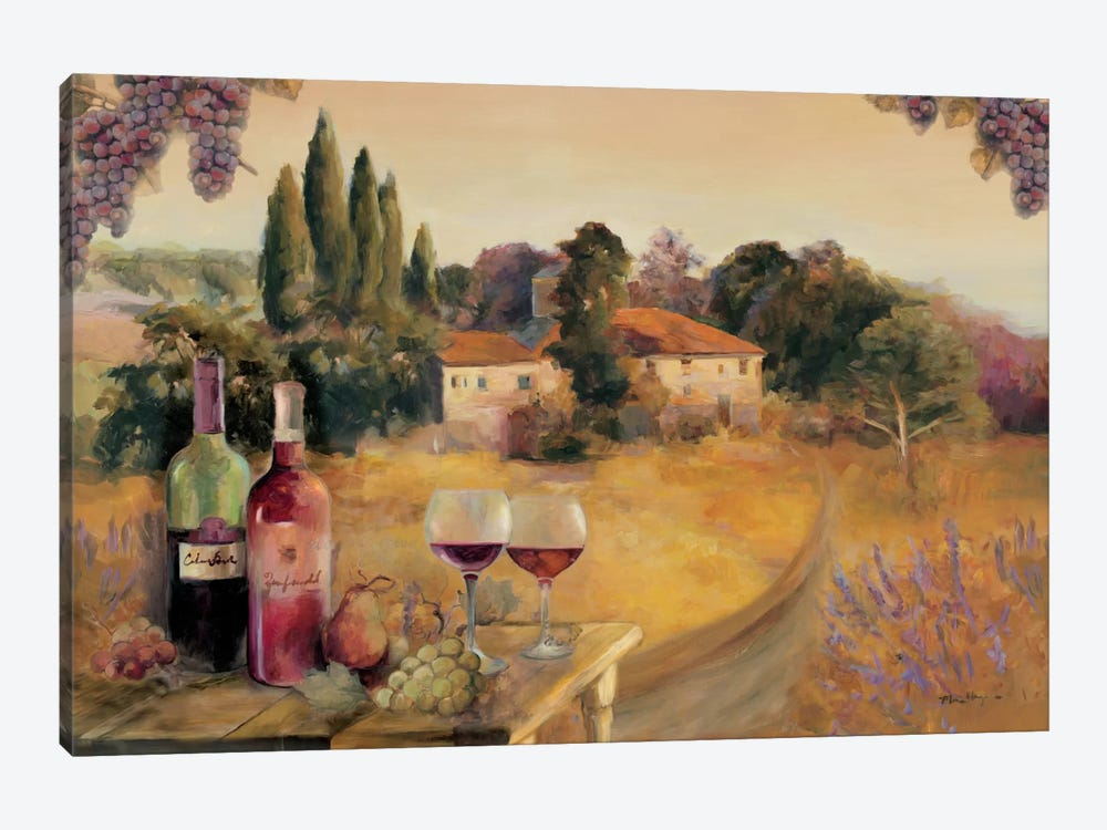 Spoleto Afternoon by Marilyn Hageman 1-piece Canvas Print