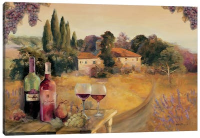 Spoleto Afternoon Canvas Art Print