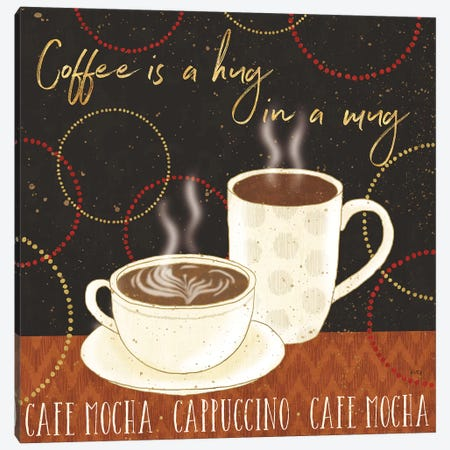 Fresh Coffee III Canvas Print #WAC8537} by Lisa Audit Canvas Wall Art