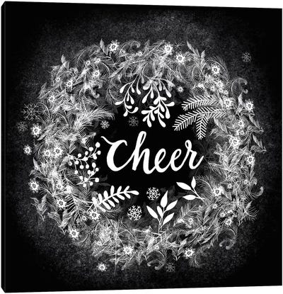 Frosty Cheer Canvas Art Print