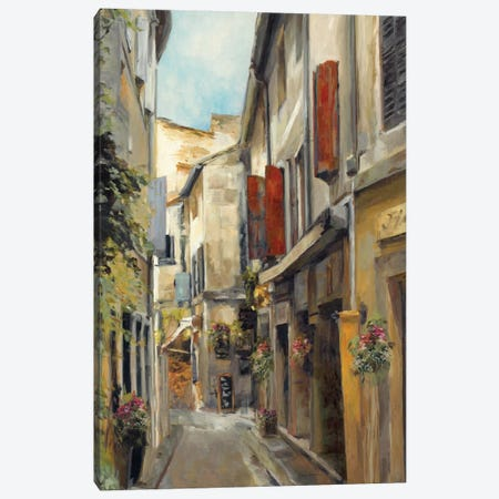 Old Town I Canvas Print #WAC853} by Marilyn Hageman Canvas Print