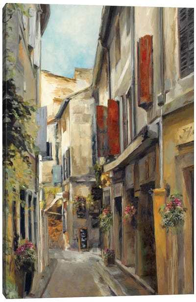 Old Town I Canvas Art Print