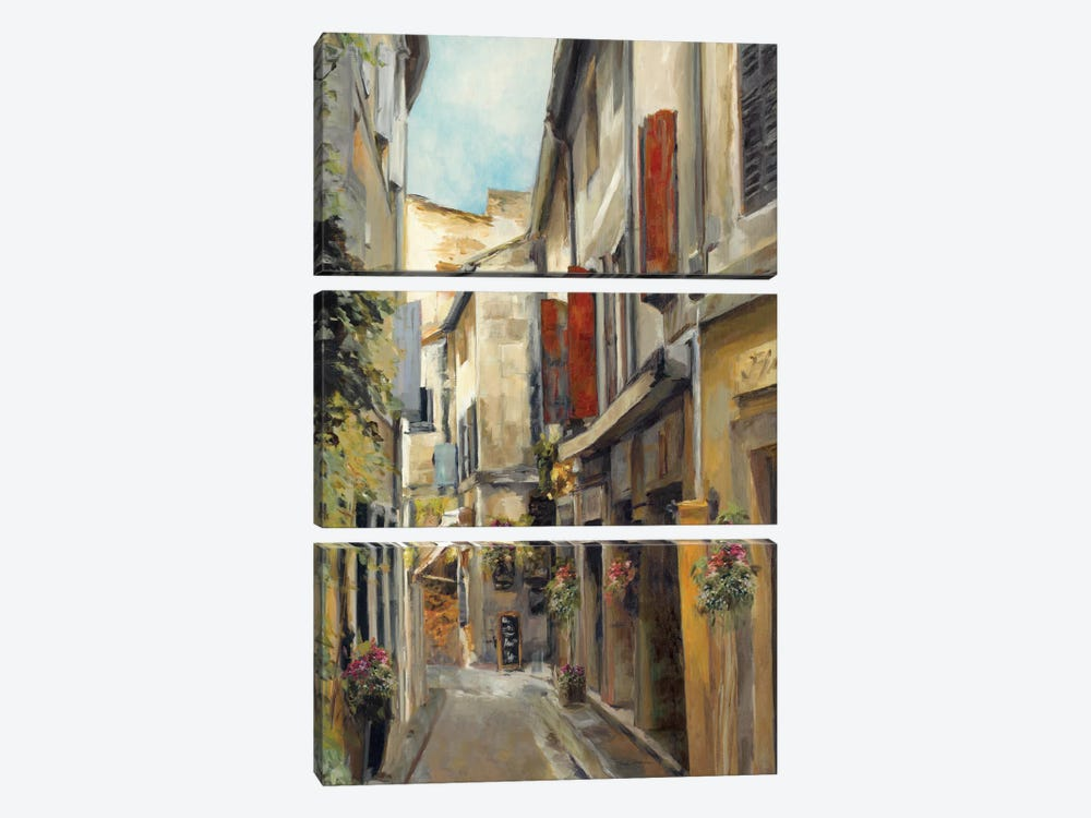 Old Town I by Marilyn Hageman 3-piece Canvas Art Print
