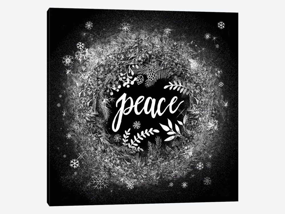 Frosty Peace by Mary Urban 1-piece Canvas Wall Art
