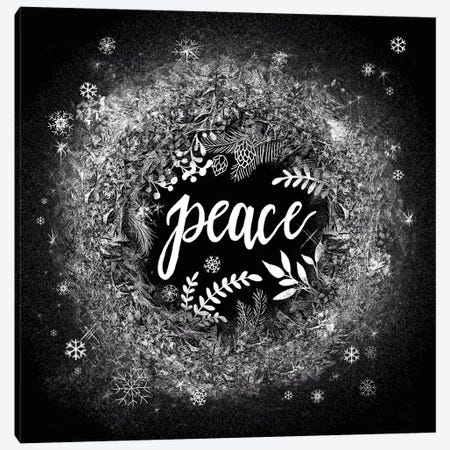 Frosty Peace Canvas Print #WAC8541} by Mary Urban Canvas Artwork