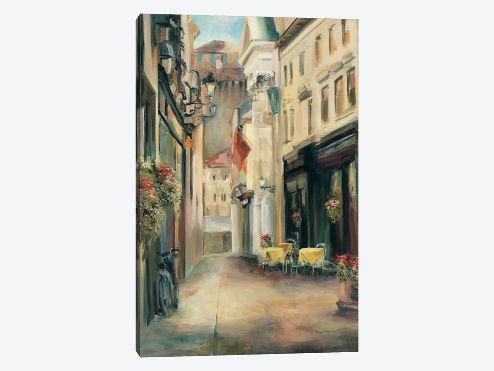 Old Town II 1-piece Canvas Artwork