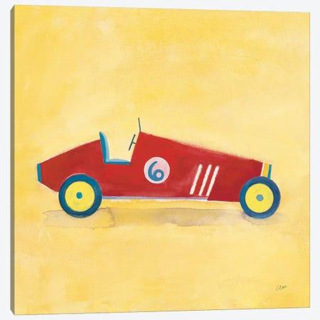 Race Car 6, Square Canvas Print #WAC8552} by Michael Clark Canvas Art Print