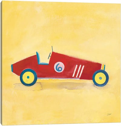 Race Car 6, Square Canvas Art Print