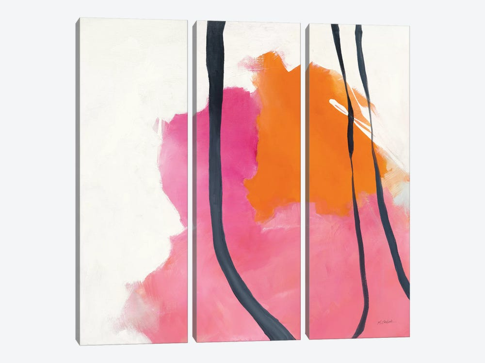 Somersault II by Mike Schick 3-piece Canvas Wall Art