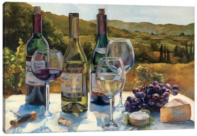 A Wine Tasting Canvas Art Print