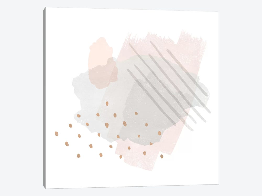 Lovely Blush I by Moira Hershey 1-piece Canvas Wall Art