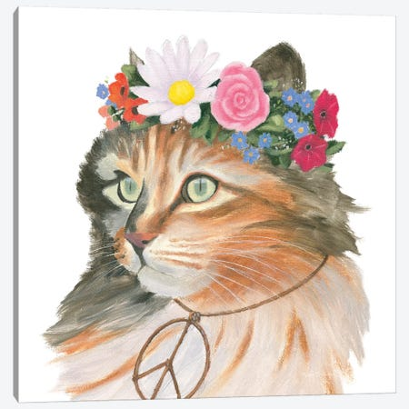 Cattitude I Canvas Print #WAC8570} by Myles Sullivan Canvas Art Print