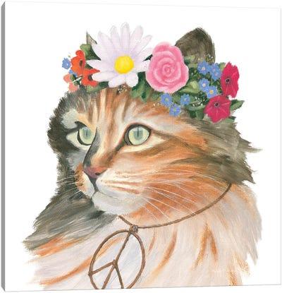 Cattitude I Canvas Art Print