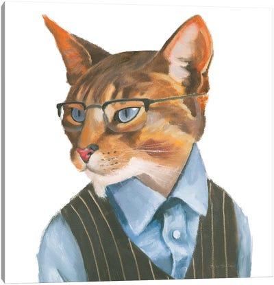 Cattitude IV Canvas Art Print