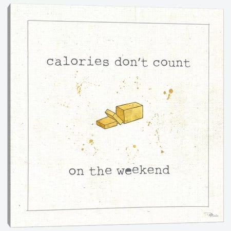 Calorie Cuties I Canvas Print #WAC8574} by Pela Studio Canvas Art