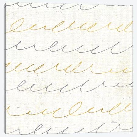 Coffee Cuties Pattern II, White Background Canvas Print #WAC8586} by Pela Studio Canvas Print