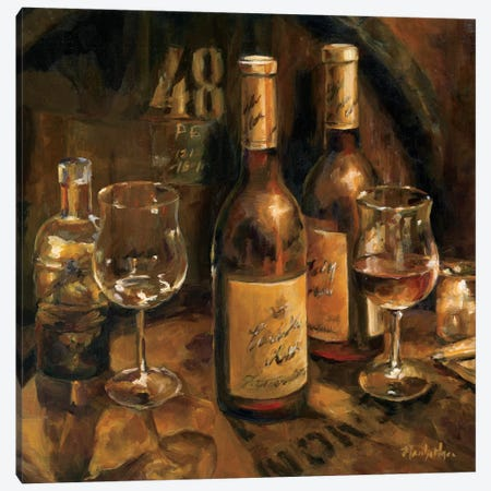Wine Making Canvas Print #WAC858} by Marilyn Hageman Art Print