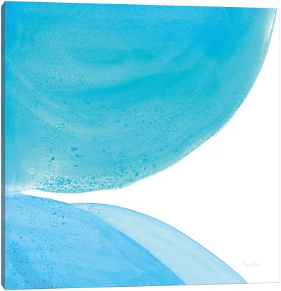 Pools Of Turquoise II Canvas Art Print