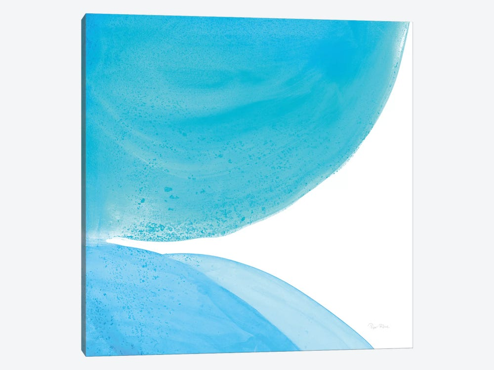 Pools Of Turquoise II by Piper Rhue 1-piece Canvas Artwork