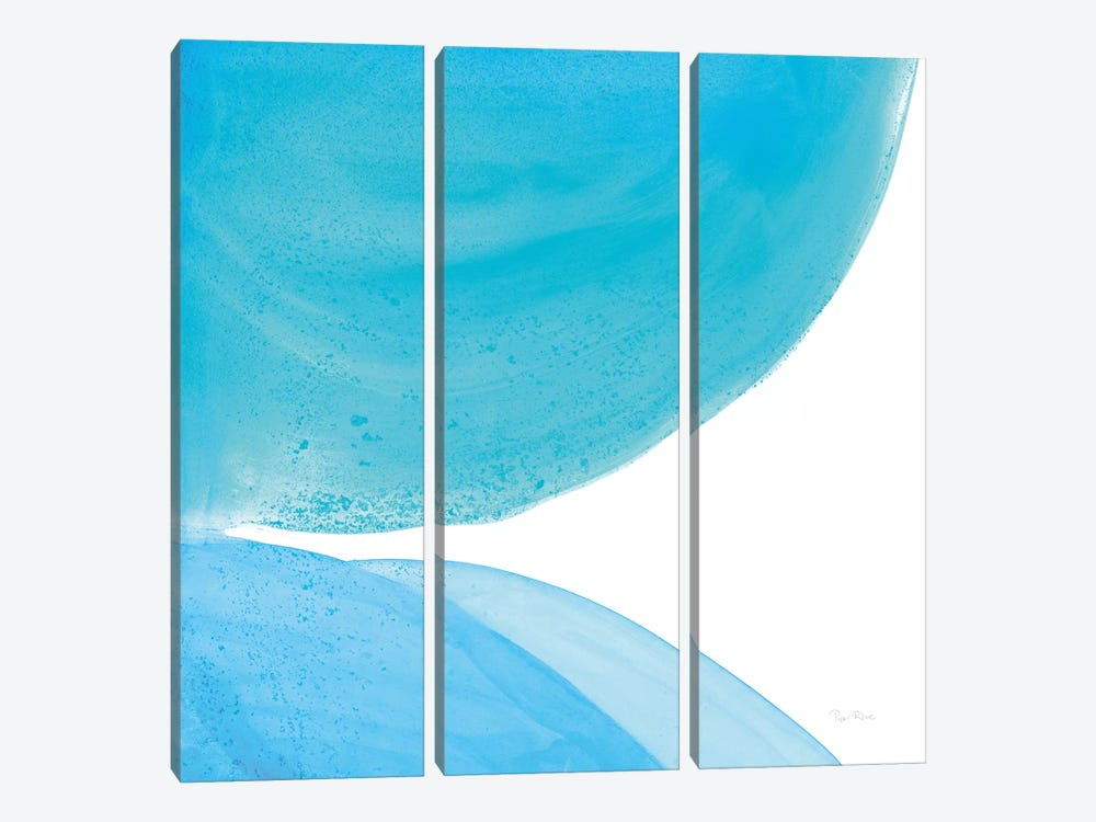 Pools Of Turquoise II by Piper Rhue 3-piece Canvas Art