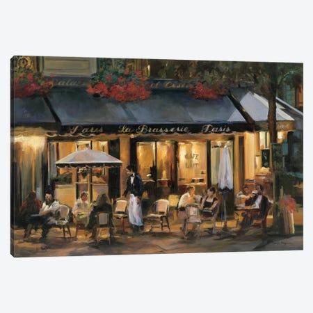 La Brasserie I Canvas Print #WAC859} by Marilyn Hageman Canvas Art Print