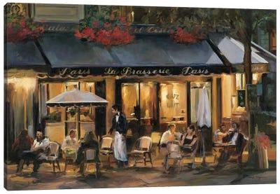 La Brasserie I Canvas Print #WAC859