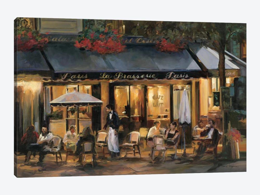 La Brasserie I by Marilyn Hageman 1-piece Canvas Art Print