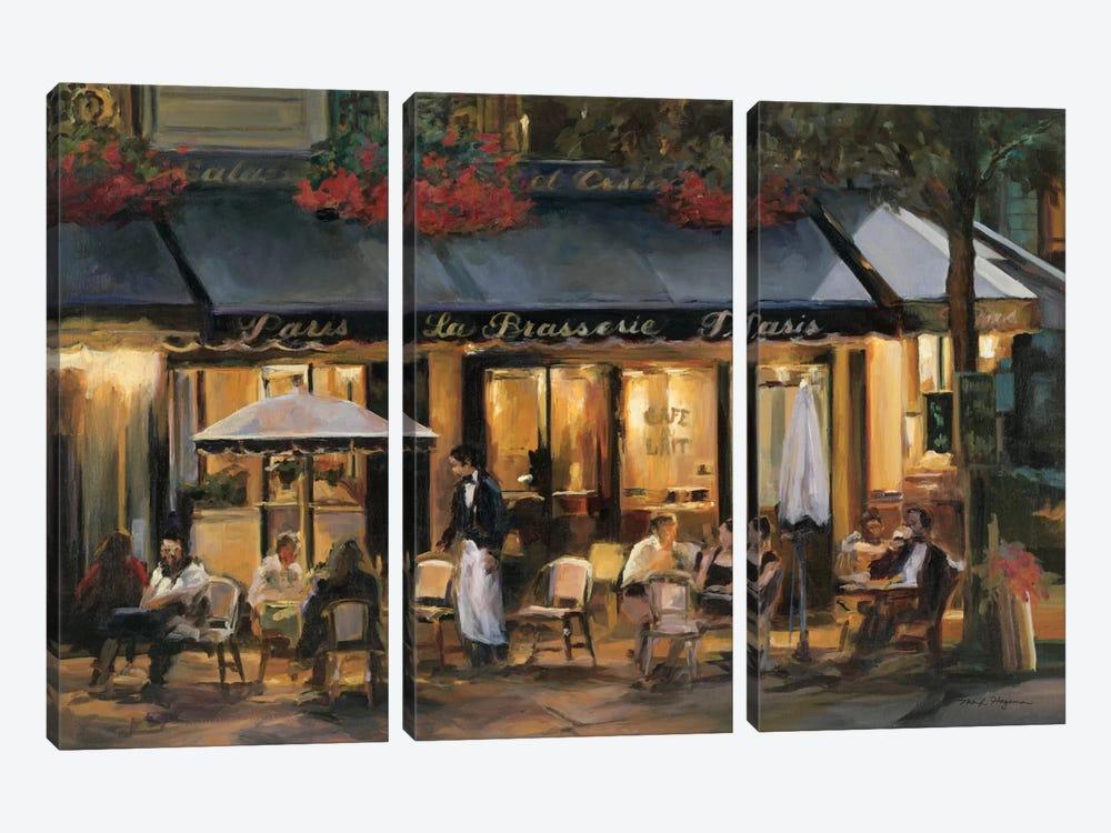 La Brasserie I by Marilyn Hageman 3-piece Canvas Print