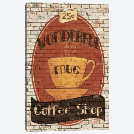 Wonderful Coffee Shop Canvas Print #WAC85} by Avery Tillmon Canvas Artwork