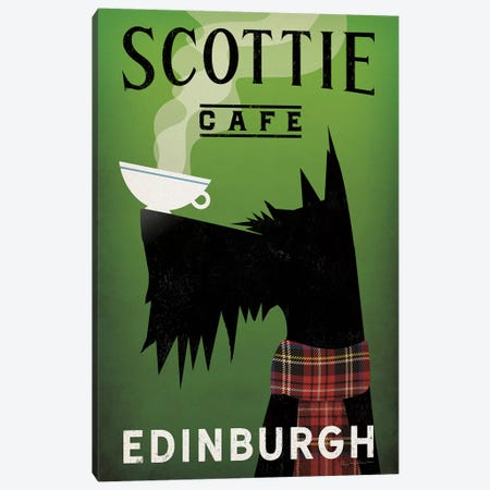 Scottie Cafe Canvas Print #WAC8602} by Ryan Fowler Canvas Print