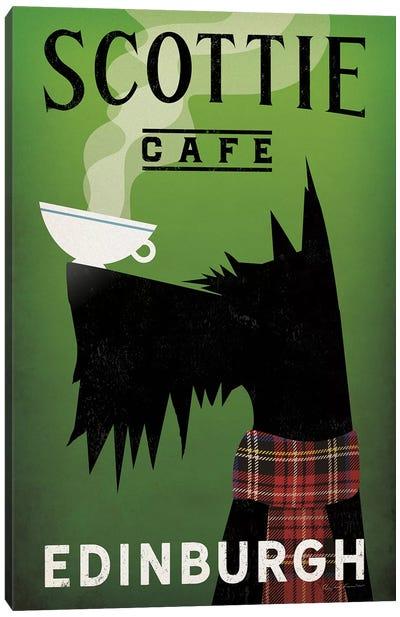 Scottie Cafe Canvas Art Print