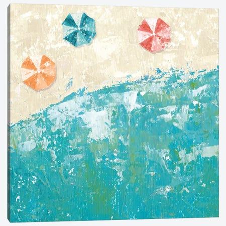 Beach Days Canvas Print #WAC8603} by Sarah Adams Canvas Print