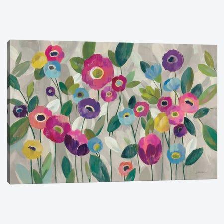 Fairy Tale Flowers V, Pink Canvas Print #WAC8608} by Silvia Vassileva Art Print