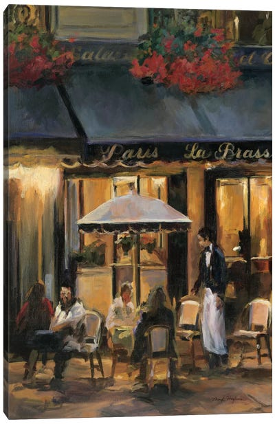 La Brasserie II Canvas Art Print