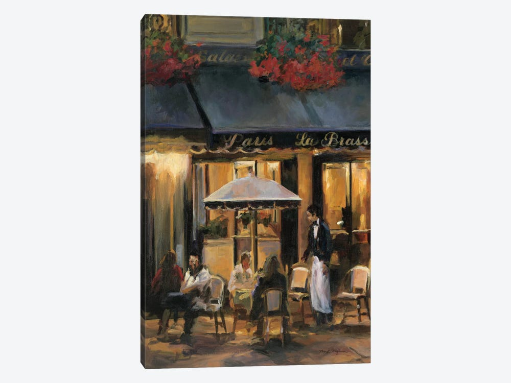 La Brasserie II by Marilyn Hageman 1-piece Canvas Art Print