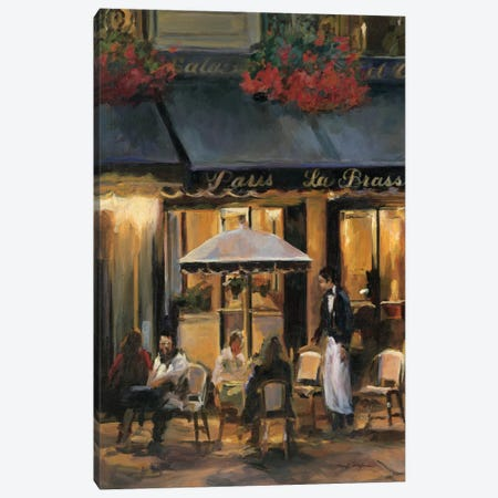 La Brasserie II Canvas Print #WAC860} by Marilyn Hageman Canvas Art