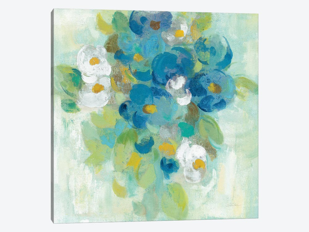 Spring Aroma II, Yellow by Silvia Vassileva 1-piece Canvas Art Print
