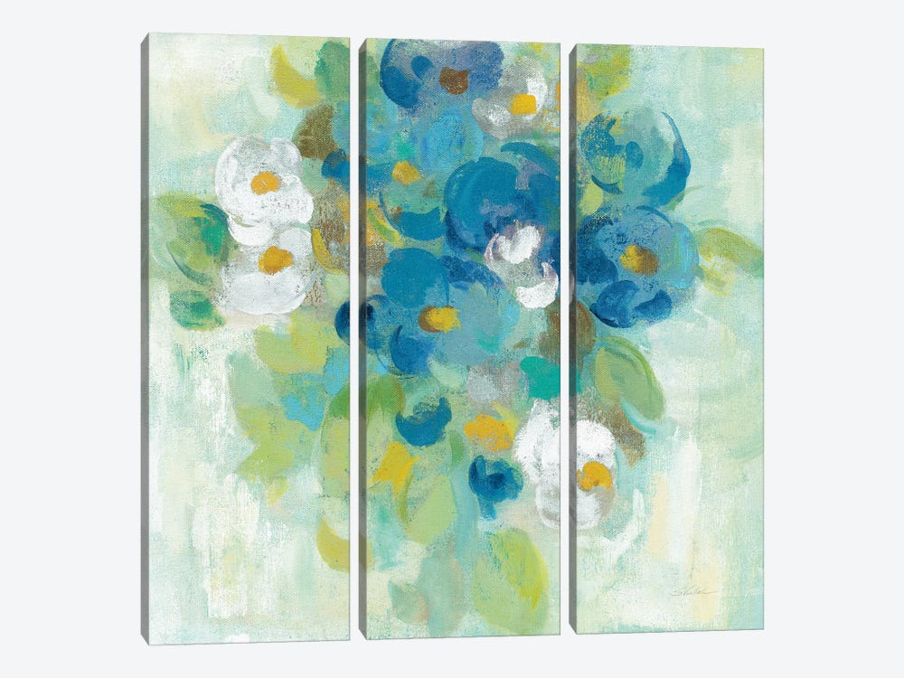Spring Aroma II, Yellow by Silvia Vassileva 3-piece Art Print