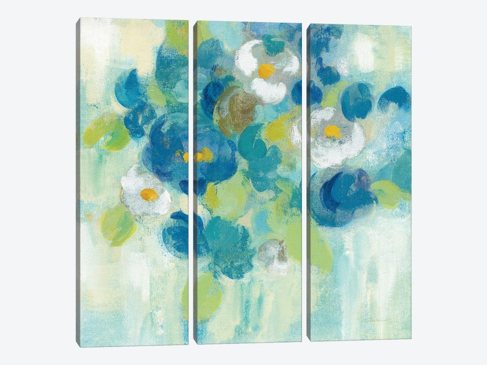 Spring Aroma III, Yellow 3-piece Canvas Artwork