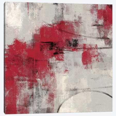 Stone Gardens II Red 3-Piece Canvas #WAC8614} by Silvia Vassileva Art Print
